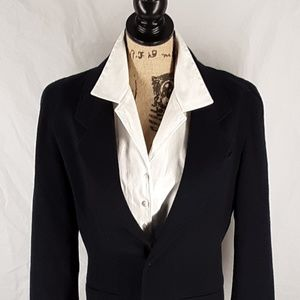 Vintage Lizwear Navy Blazer Liz Caliborne